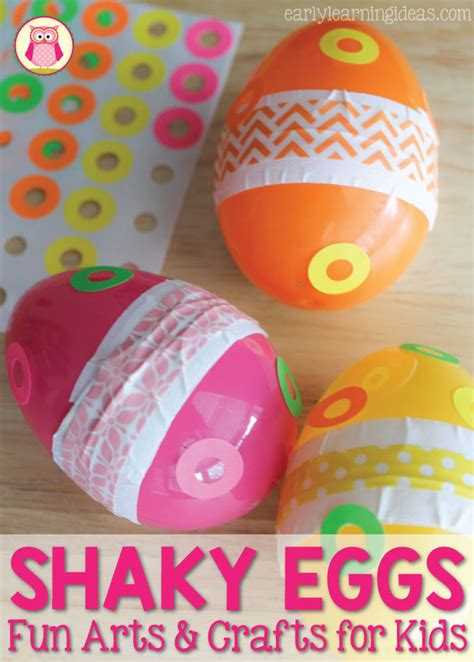 Fun Arts And Crafts For Kids How To Make A Shaky Egg