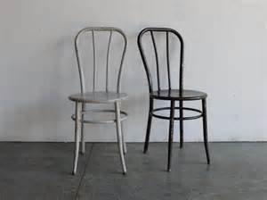 Etsy Dining Chairs by Vintage Industrial Metal Cafe Chairs Set Of 2