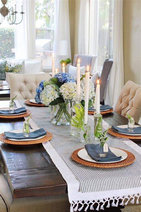 Spring Table Decorationsa Spring Tablescape Blog Tour