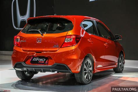 New Honda Brio by Indonesia New Honda Brio Unveiled Facelift Or A New