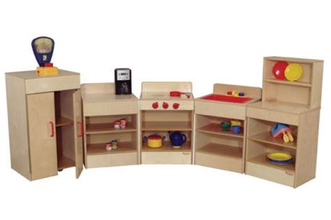 Wooden Play Kitchen Appliances, Dramatic Play Furniture