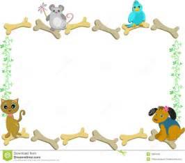 Dog and Cat Border Clip Art Free
