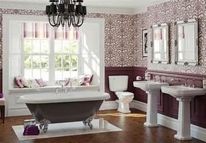 Papier Peint Pour Salle De Bain : parquet salle de bain peint id e inspirante ~ Dailycaller-alerts.com Idées de Décoration