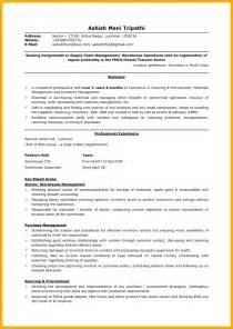 resume exles logistics 8 logistics resume bursary cover letter