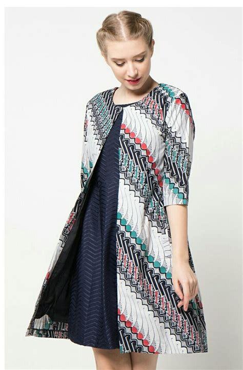 model baju batik ideas  pinterest contoh