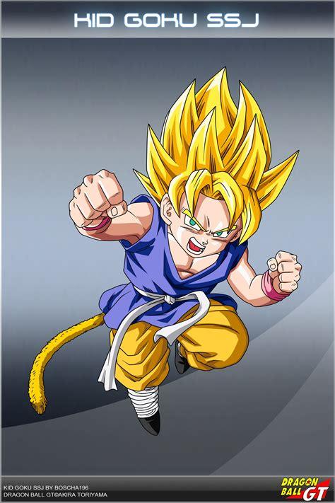 Dragon Ball Super Saiyan Kid Goku Wallpapers HD