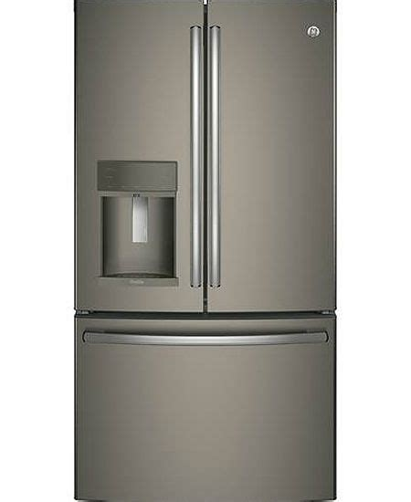 slate floor kitchen ge profile slate door refrigerator pfe28kmkes 2298