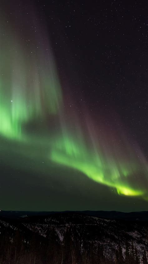 nt aurora night sky nature wallpaper