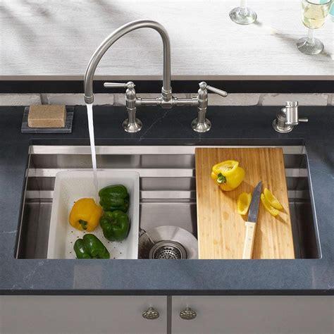 kitchen sink gadgets kohler prolific undermount kitchen sink 187 petagadget 2721