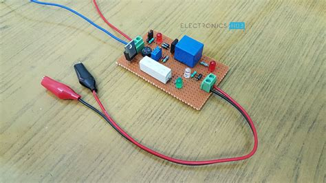 Lead Acid Battery Charger Circuit Diagram Its Working