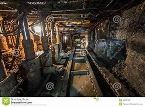 Machinery In Modern Coal Mine Stock Photo - Image: 40698720