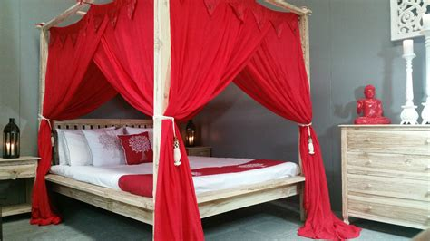 Sew Curtains For A Four Poster Bed Home The Honoroak
