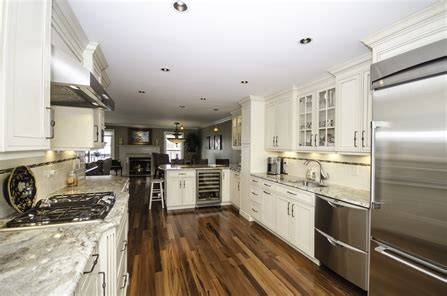 galley kitchen  peninsula neptune nj  design