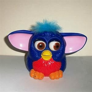 McDonald's 1999 Furbies Blue & Red Furby w/ Light Blue ...