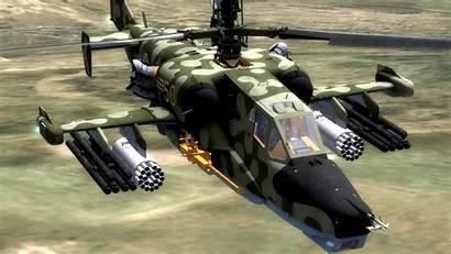 Helicopter Russian Attack Military Shark Ka Soviet