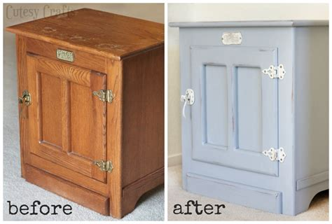clad furniture white clad end table makeover cutesy crafts White