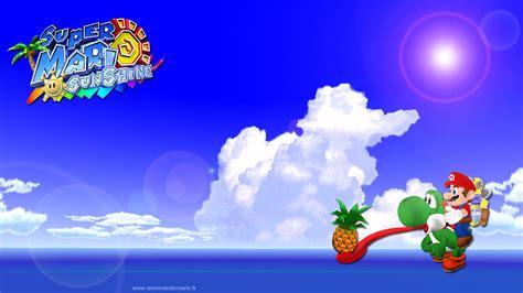 The Gallery For Super Mario Sunshine Wallpaper Hd