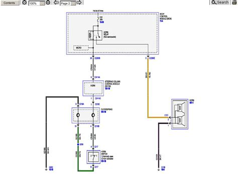2015 Ford Duty Wiring Diagram by 2015 Superduty Factory Horn Wiring Schematic Ford Truck