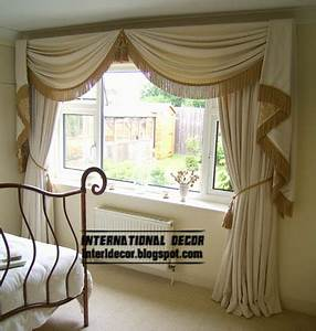 10 latest classic curtain designs style for bedroom 2015 for Curtains for bedroom windows with designs 2015