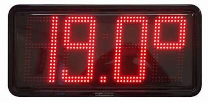 Temperature Led Clocks Clock Digital Temp Date