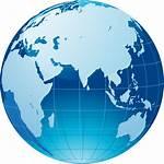 Globe Map Icon Transparent Clip Background Web