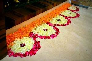 Latest Flower Rangoli Designs 2018: That Will Steal Your