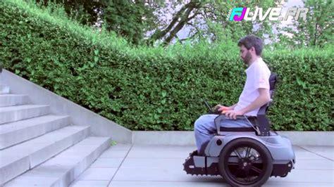 fauteuil qui monte les escaliers ils inventent un fauteuil roulant capable de monter un escalier