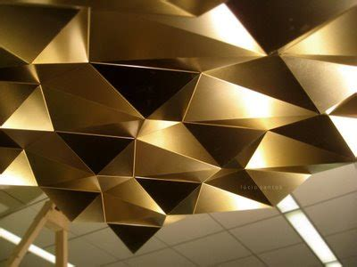lucio santos folded metal ceiling