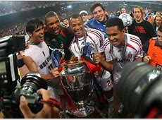 Kaká, Dida, Cafu e Serginho Milan UEFA Champions League