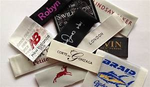 Satin garment labels luxurious elegant fabric labels for Custom design clothing labels