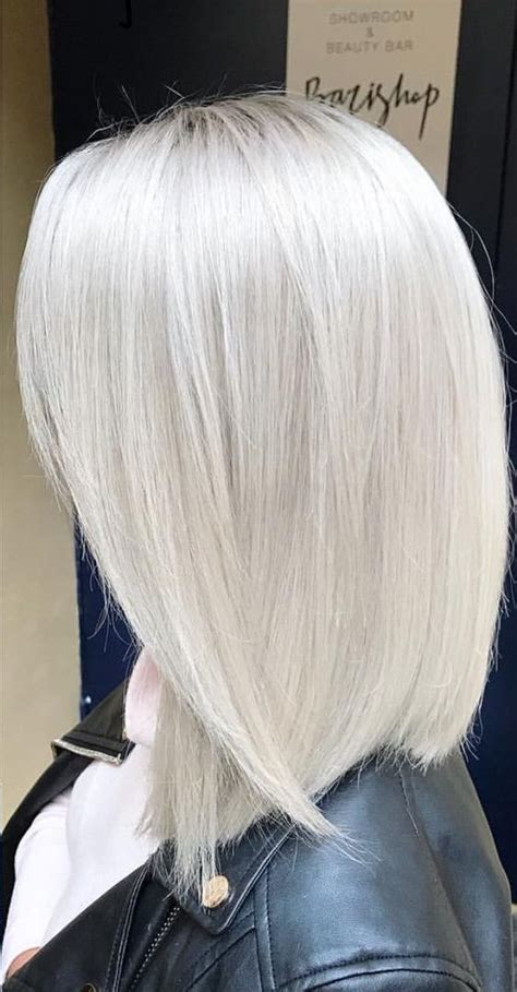 White Color Hair by 4 Stunning Silver Hair Color Ideas And Maintenance Tips