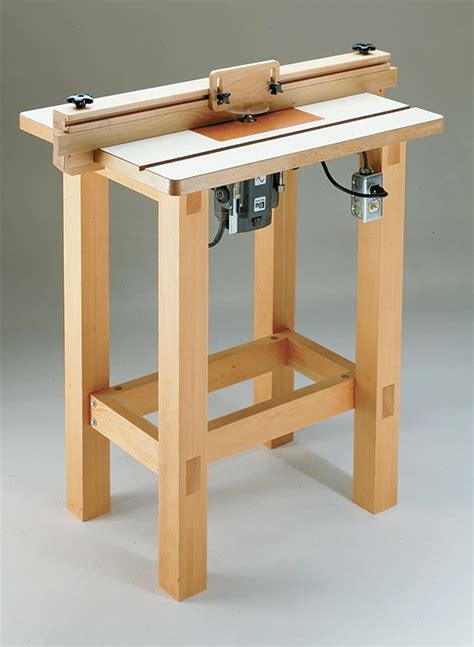 router table woodworking project woodsmith plans