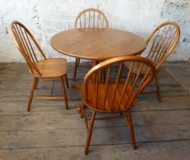 Antiques Atlas  Danish Teak Round Dining Kitchen Table 4