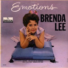 brenda lee album covers emotions brenda lee album wikipedia