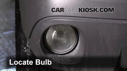fog light replacement 2001 2005 pontiac aztek 2003