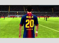 Barcelona + Bale and Neymar FIFA 13 Faces YouTube