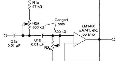 Variable High Pass Filter Wiring Diagram Schematic Diy