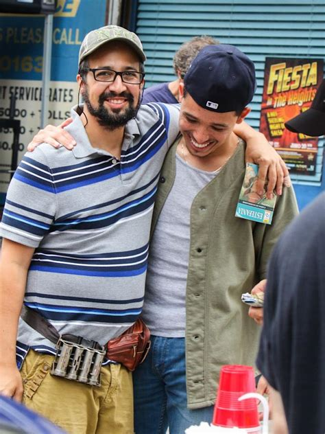 Chu, and with a mostly latino cast. Go Behind the Scenes of the In the Heights Movie