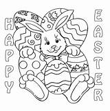 Easter Coloring Sheets Bunny Pages Contest Paques Coloriage Pdf Colored Clipart Sunday Colouring Chicks Printable Rabbit Printables Adult Eggs Dessin sketch template