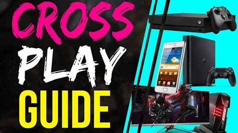 fortnite battle royale cross play guide   crossplay