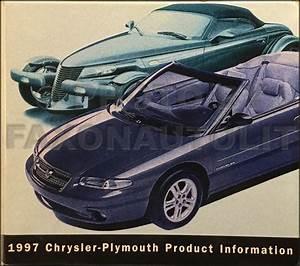 1997 Sebring Convertible Repair Shop Manual Original