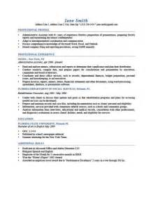 printable resume cv templates format sle
