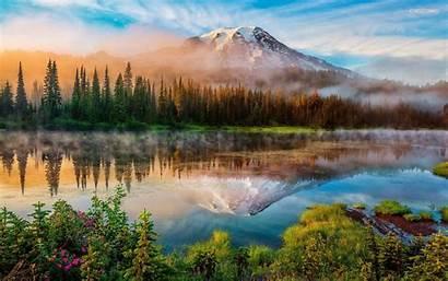 Mountain Desktop Fall Mountains Wallpapers Usa Mount