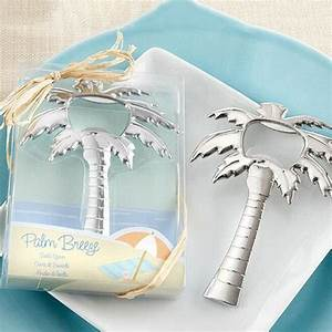 100pcs beach themed wedding favour palm tree bottle opener With beach themed wedding shower