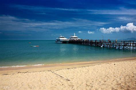 บัตรโดยสารเรือเฟอร์รี่และรถบัสระหว่างเกาะสมุย (ท่าเรือพระ ...
