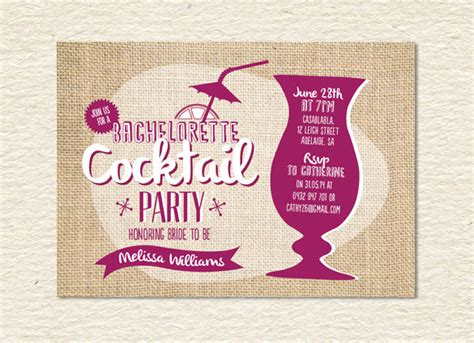 17+ Stunning Cocktail Party Invitation Templates & Designs