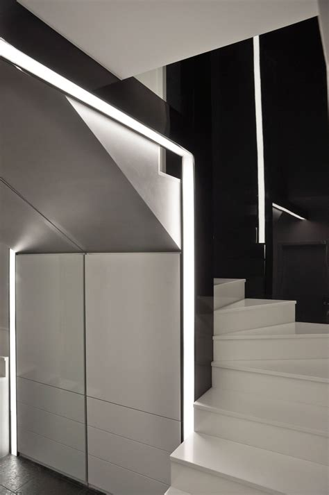 cold  minimalist interior  black  white  great inspiration   building design