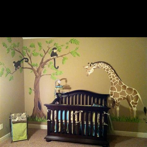Kinderzimmer Junge Dschungel by The Jungle Theme For A Nursery Baby Bed