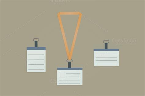 amazing blank id card templates  illustrator