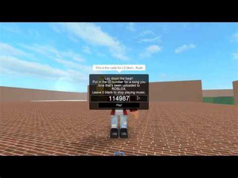 lil skies rude roblox code youtube
